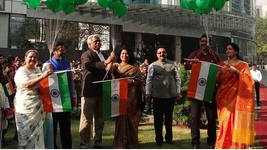 Bank of India celebrates 71st Republic Day
