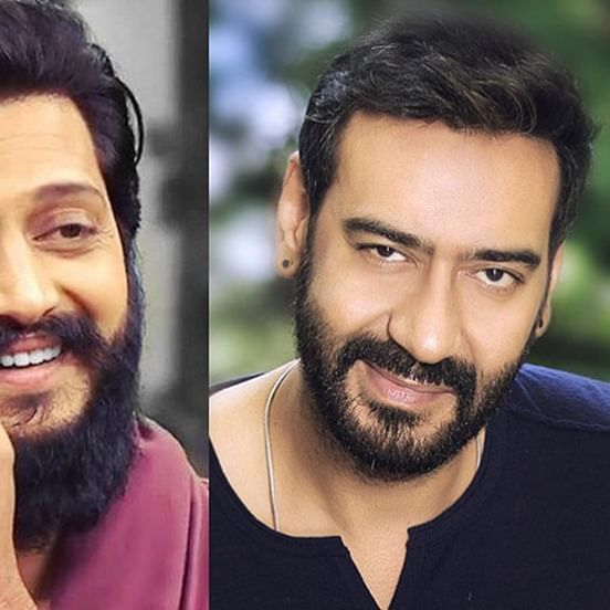 Ajay Devgn reveals that Riteish Deshmukh is making a biopic on Chhatrapati Shivaji Maharaj
