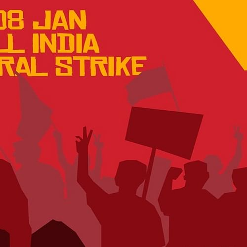 Banking, transport services may be hit due to trade unions' strike on Jan 8
