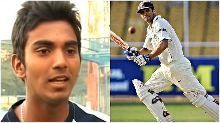 Watch: Young KL Rahul tries to mimic 'The Wall' Rahul Dravid