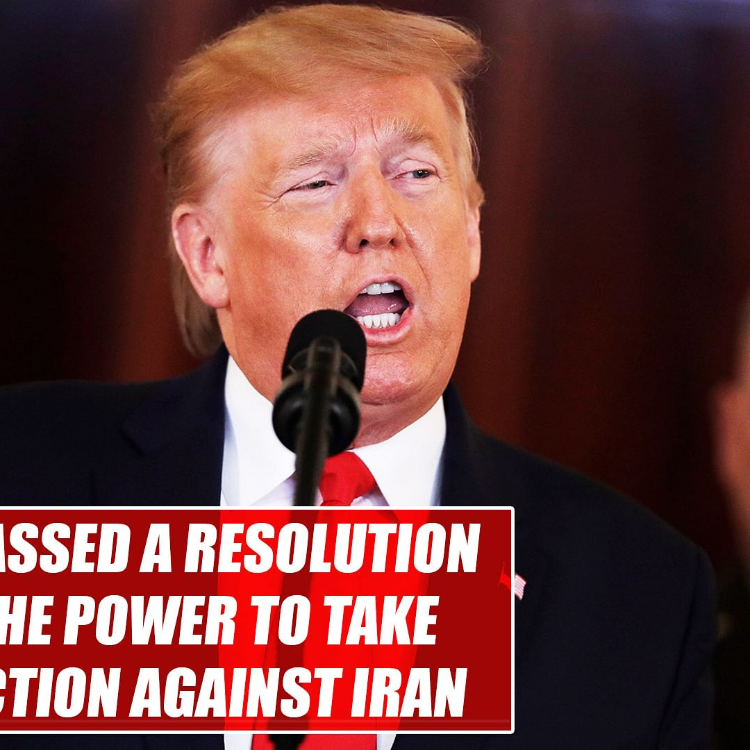 US House passes resolution limiting Donald Trump's power to carry out military action against Iran