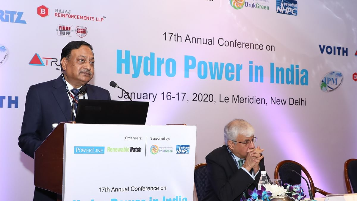 CMD, NHPC delivers keynote address during '17th Annual Conference on Hydro Power in India'