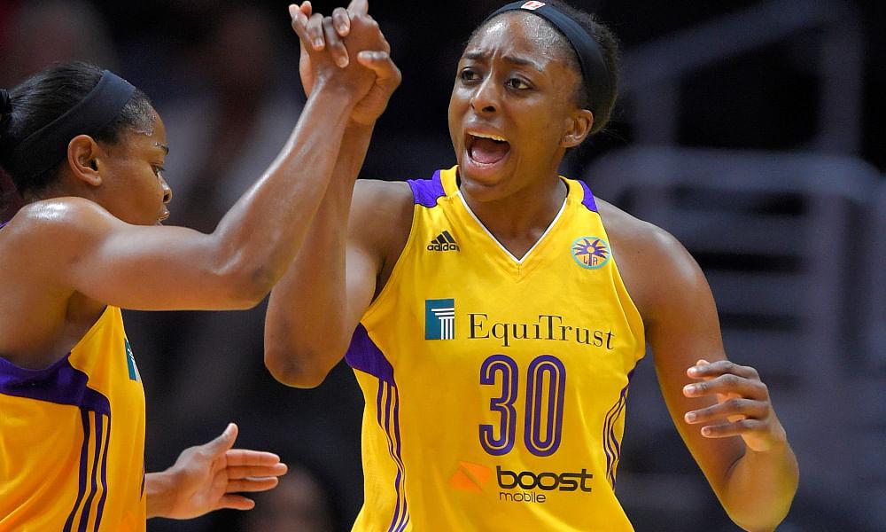 Women's National Basketball Players Association (WNBPA) President Nneka Ogwumike