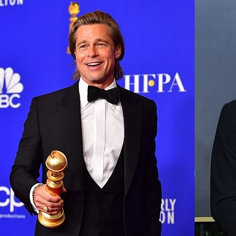 'I would've shared the raft': Brad Pitt burns Leonardo DiCaprio with 'Titanic' joke in Golden Globes speech