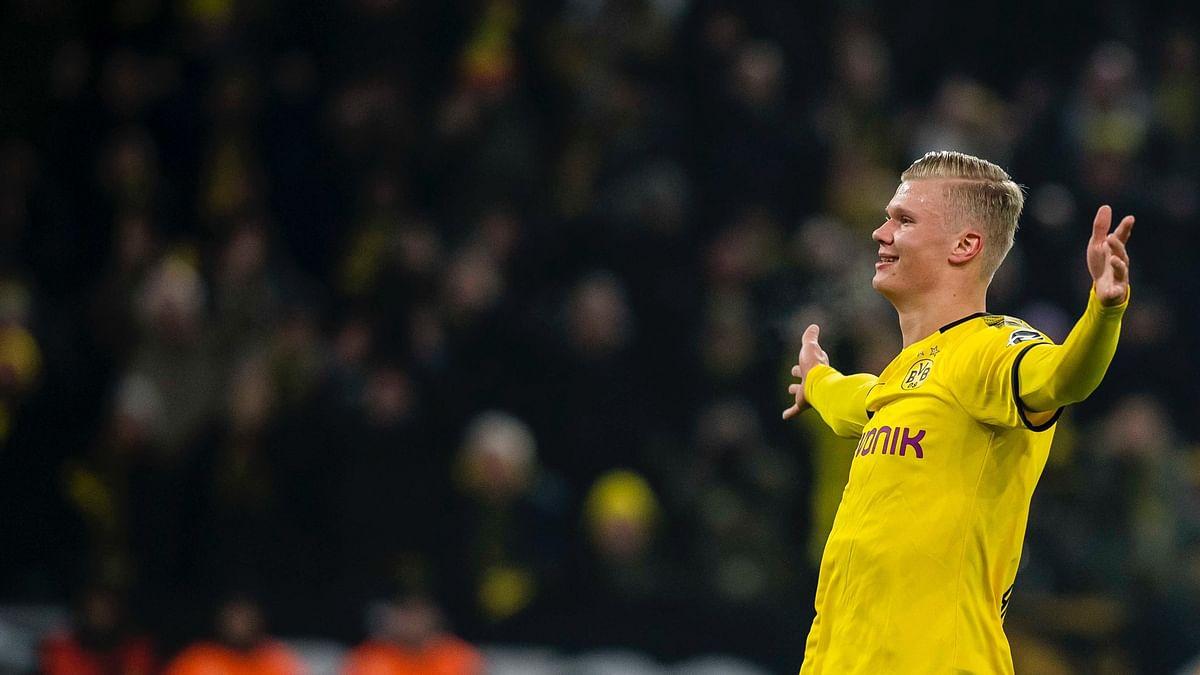 Bundesliga: Dortmund relieved as Erling Haaland strikes late to beat Düsseldorf 1-0