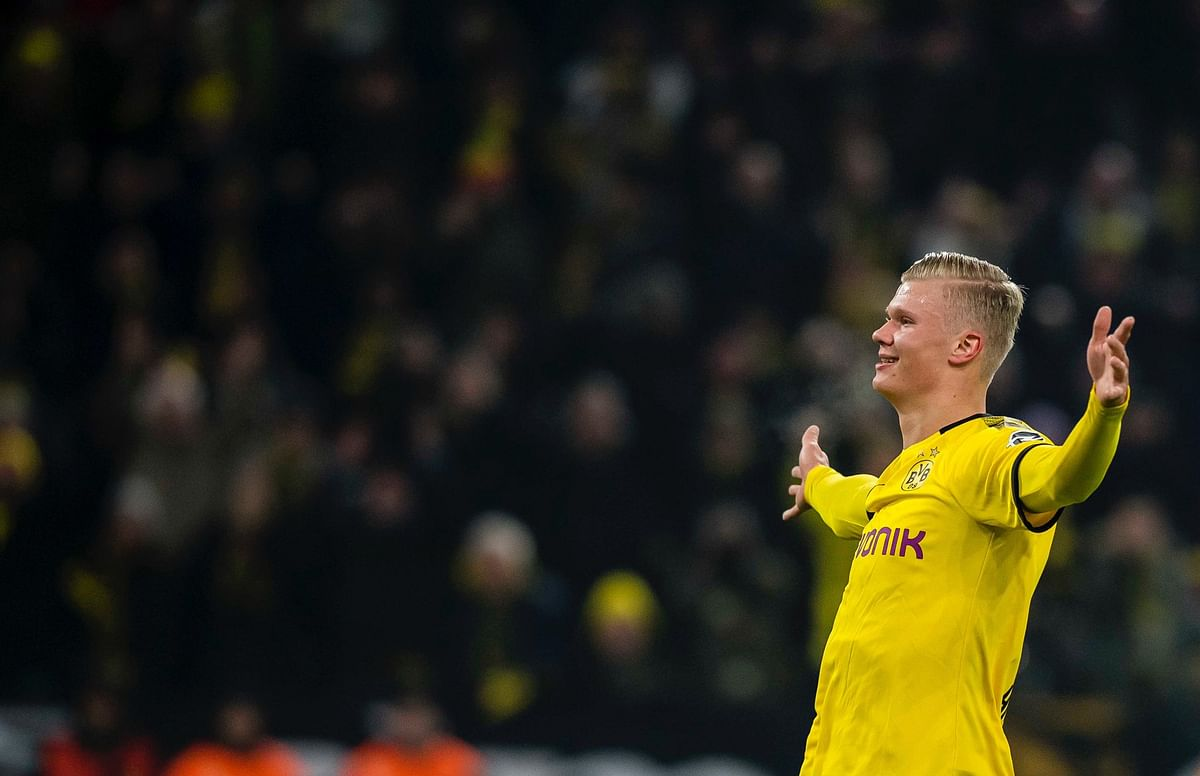 Bundesliga: Erling Haaland creates history after scoring 5 goals in first 2 games