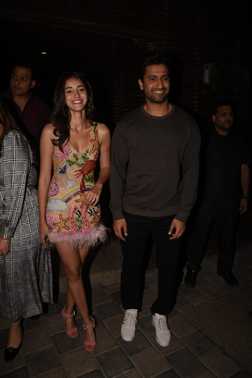 Ananya Panday and Vicky Kaushal