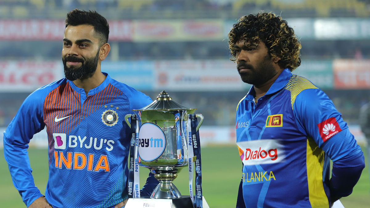 Cricket Score - India vs Sri Lanka: Match abandoned without a ball being bowled