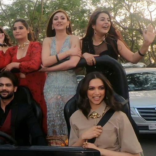 Bigg Boss 13: In a first, contestants enjoy a 'joyride' with Deepika Padukone