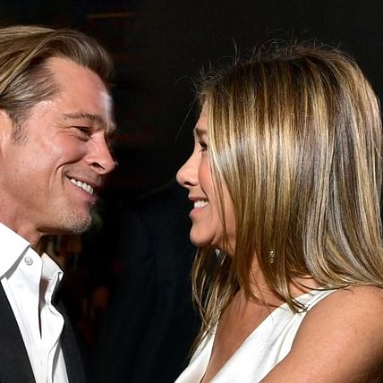 'There's no oddness at all': Jennifer Aniston says she's on good terms with ex-husband Brad Pitt
