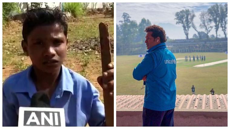 Disabled youth thanks Sachin Tendulkar for sharing his video