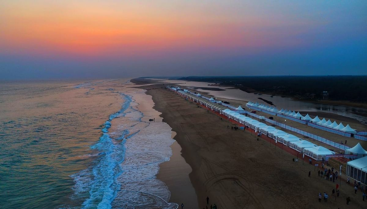 From adventure sports to a beach spa: Live it up at a luxury camp on the beach in Odisha