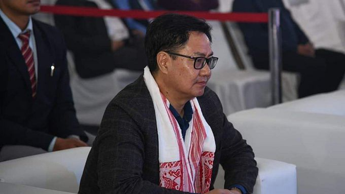 Outdoor training can wait: Kiren Rijiju