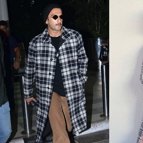 Ranveer Singh takes a leaf out of wife Deepika Padukone's stylebook