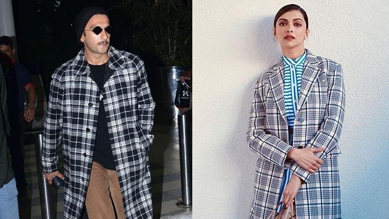 Ranveer Singh takes a leaf out of wife Deepika Padukone's stylebook