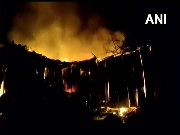 Fire breaks out at godown in Thane's Mumbra, fire engines rushed to spot