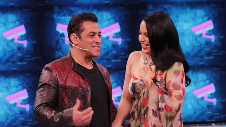 Bigg Boss 13: Salman Khan, Kangana Ranaut play kabaddi, watch video