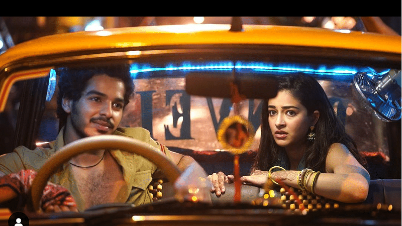 Ishaan and Ananya shoot high-octane action sequences for 'Khaali Peeli'