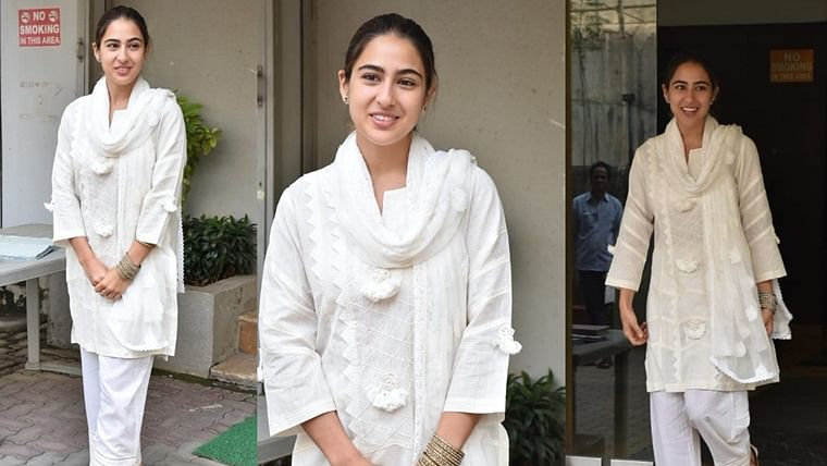Versatility at its best: After flaunting her bikini body, Sara Ali Khan rocks a salwar suit