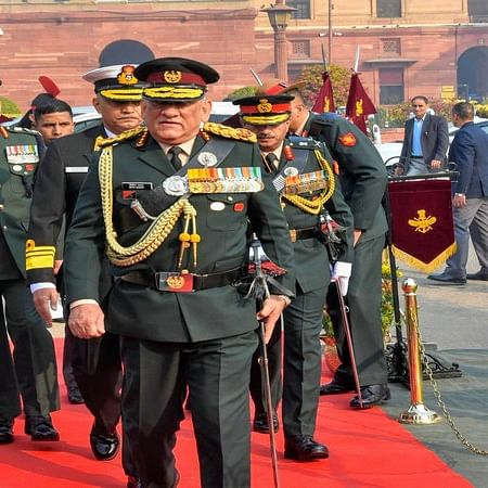 'We stay far from politics, very far': CDS Gen Rawat refutes allegations of political inclination