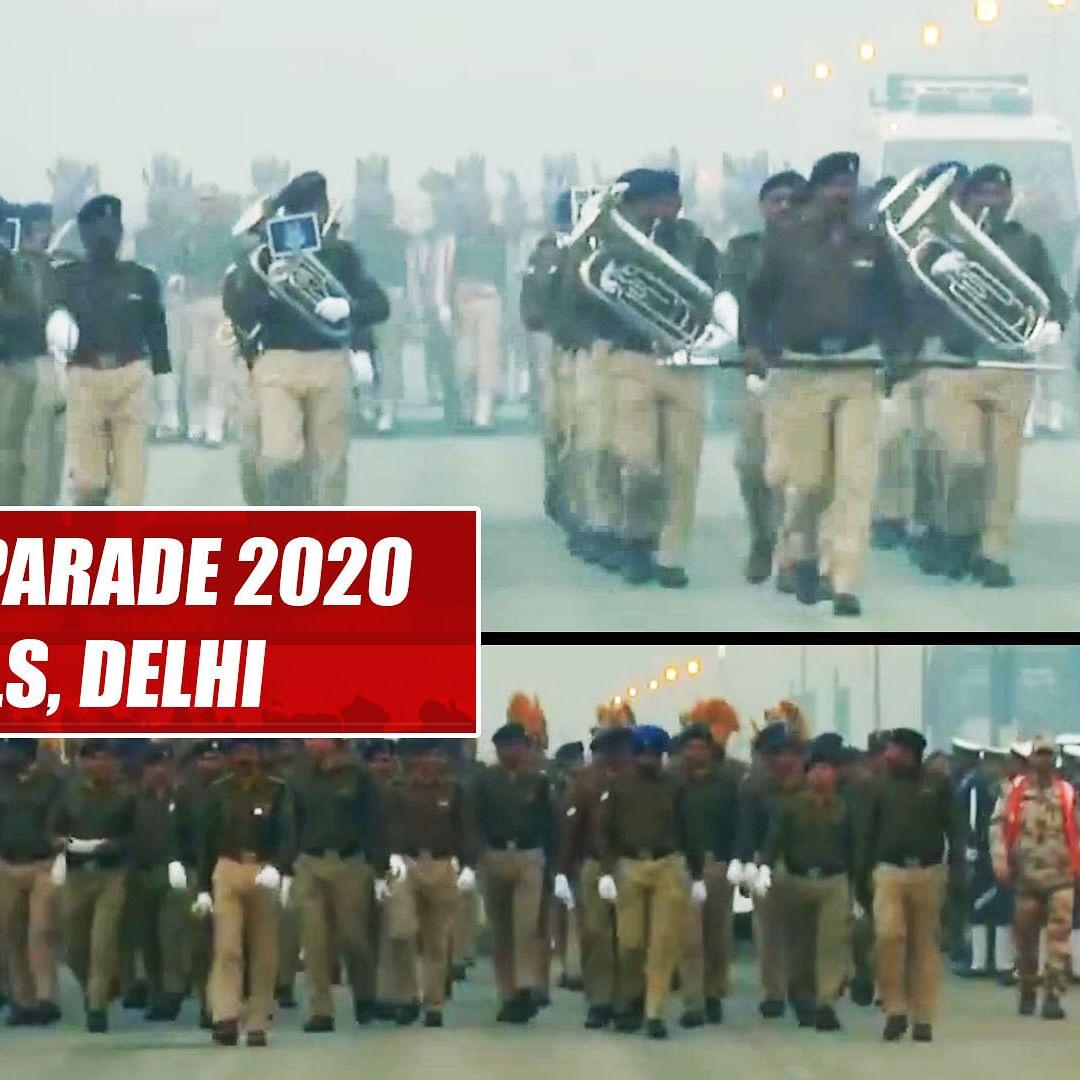 Republic Day Parade 2020 rehearsals begin despite cold in Delhi
