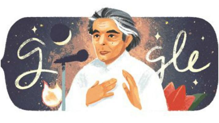 Google honours Kaifi Azmi with a  doodle on his 101st birth anniversary