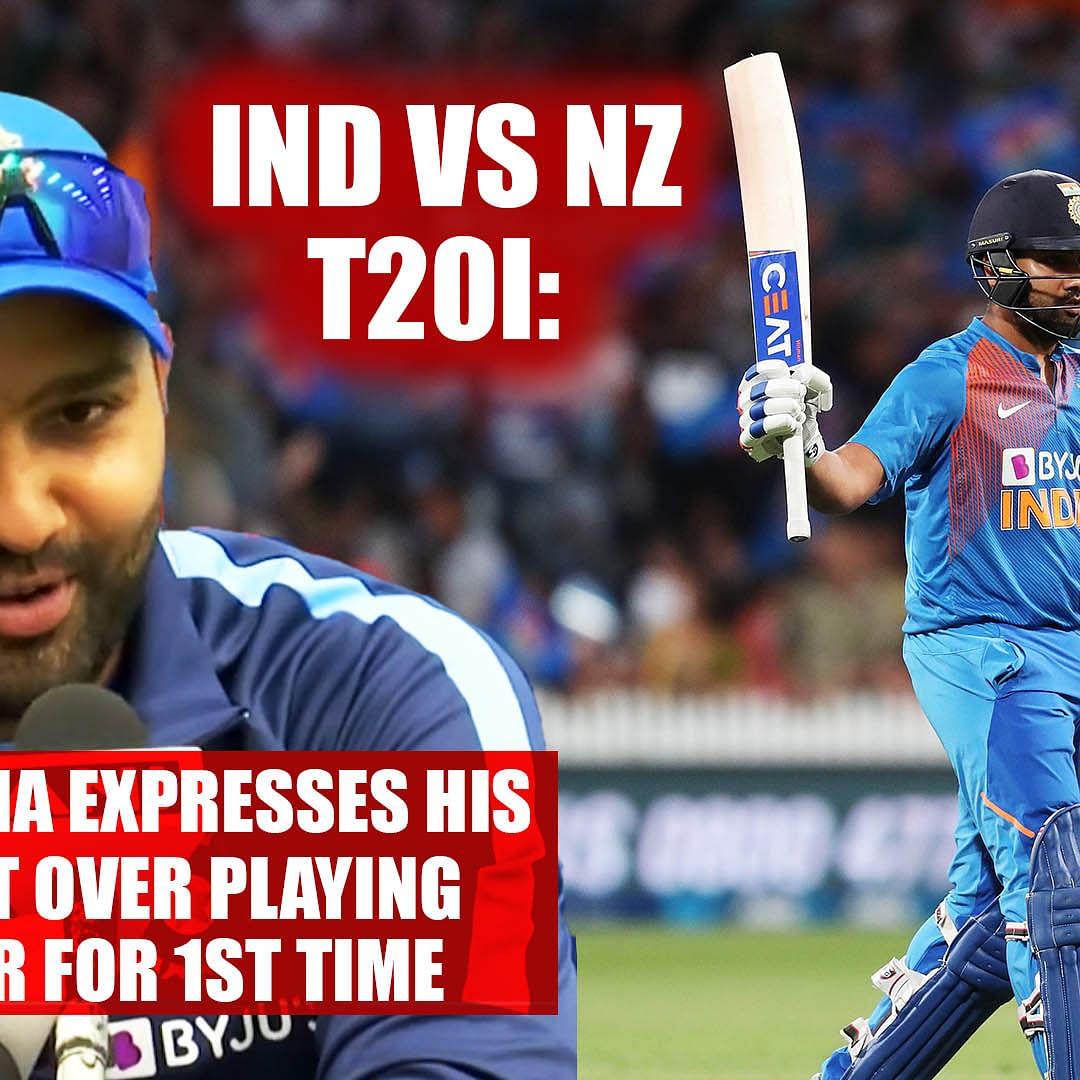 Ind vs NZ T20I: Rohit Sharma delighted after playing his first Super Over