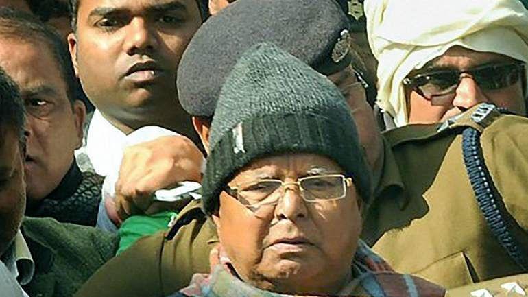 Lalu Prasad can meet lawyer 3 days a week