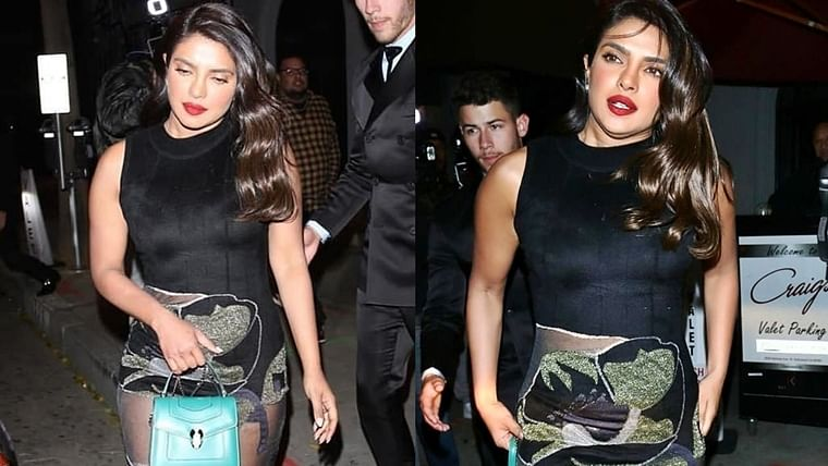 Did Priyanka Chopra's Rs 5.2 Lakh handbag prevent an awkward wardrobe malfunction?