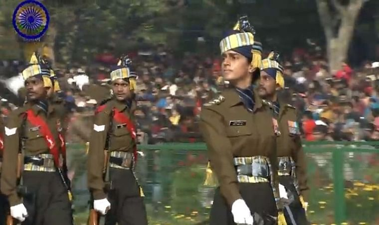 Republic Day 2020 Parade Updates: Capt. Tania Shergill leads all-men marching contingent at parade