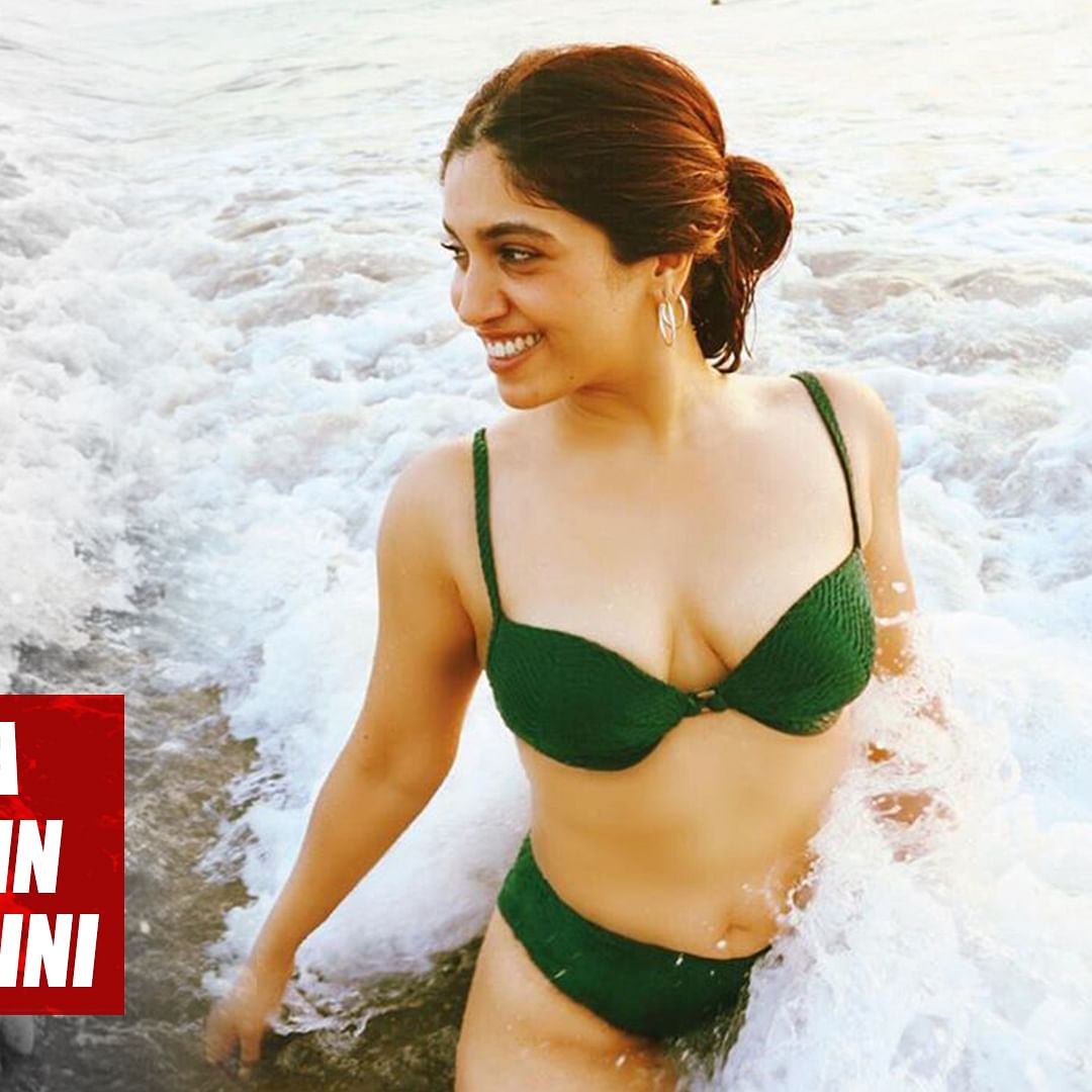 Bhumi Pednekar is a 'mood' as she poses in an emerald green bikini