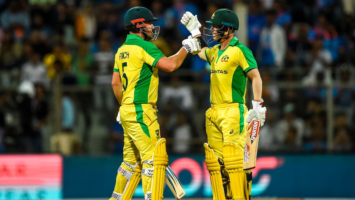David Warner (128) and Aaron Finch (110) registered the highest opening-wicket partnership of 258 against India in the first ODI at Wankhede.