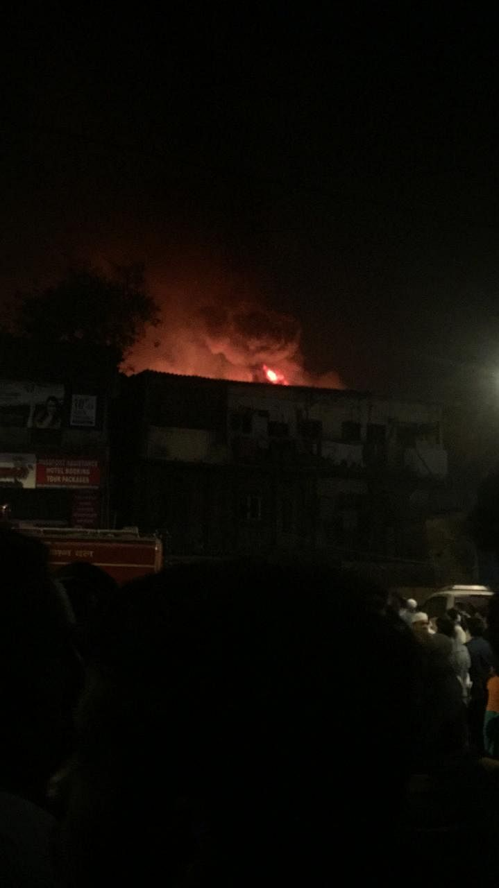 Mumbai: Fire breaks out in Kurla West; 7 fire engines mobilised