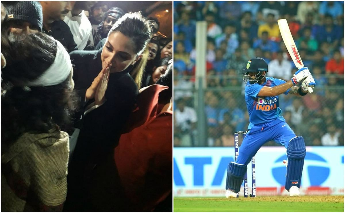 Deepika Padukone and Virat Kohli