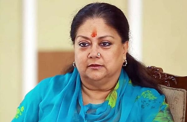 Former Rajasthan CM Vasundhara Raje gives up facilities provided by government
