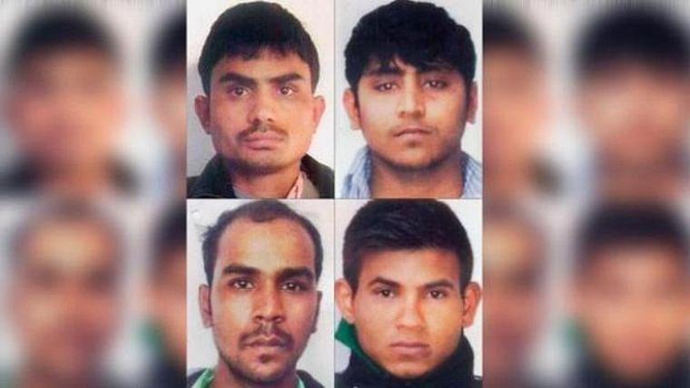 The four death row convicts -- Vinay Sharma, Akshay Kumar Singh, Mukesh Kumar Singh and Pawan Gupta -- were scheduled to be hanged on January 22.