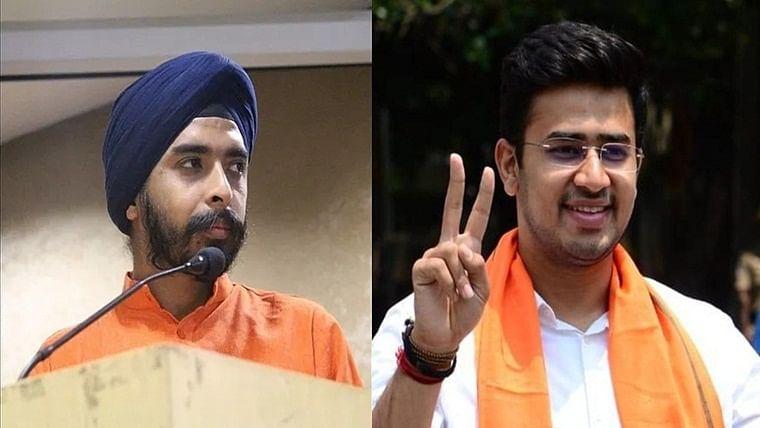 'We are all with you, Paaji': Tejasvi Surya congratulates Tajinder Bagga for getting BJP ticket