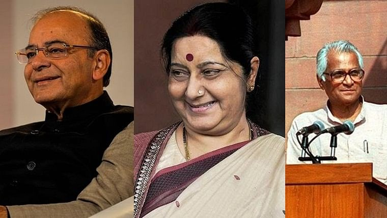 Jaitley, Swaraj, Fernandes and Parrikar have been given the award posthumously