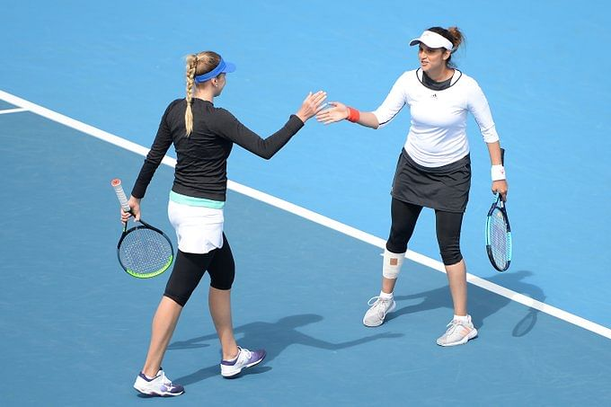 Sania and Kichenok in summit clash