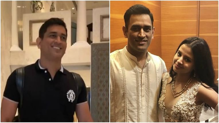 'He's so cute no?': Sakshi teases 'sweetie' MS Dhoni in adorable video
