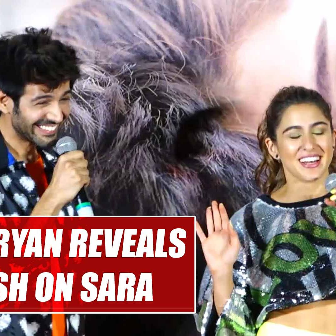 Kartik Aryan reveals he has a crush on Sara Ali Khan