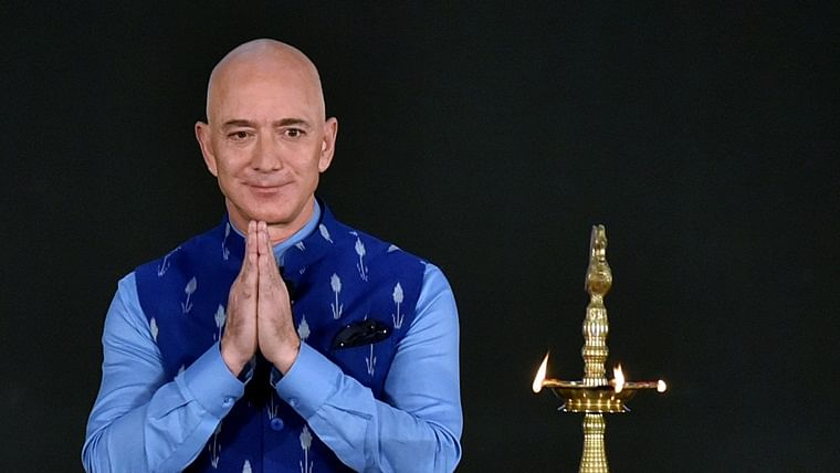 After Modi govt's cold-shoulder to Jeff Bezos, BJP functionary gets into a Twitter spat with The Washington Post