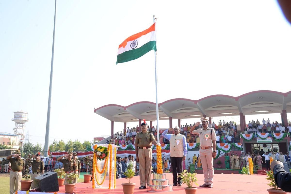 NTPC-Solapur celebrates Republic Day