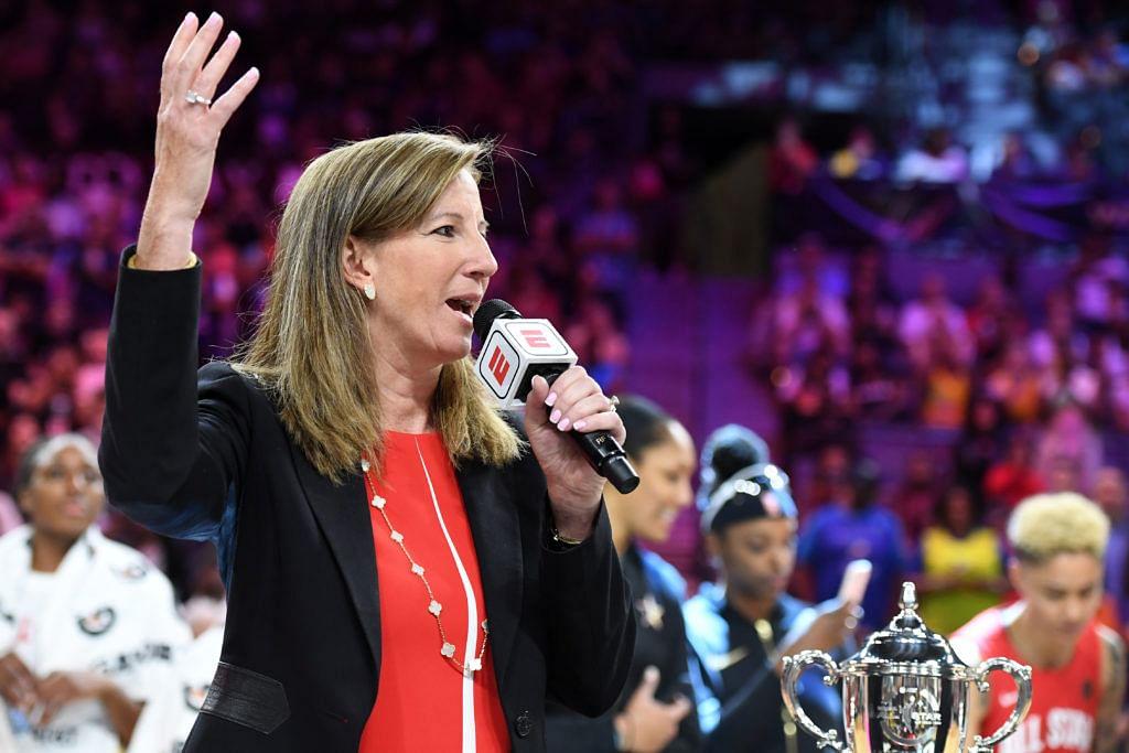 Women's National Basketball Association Commissioner Cathy Engelbert