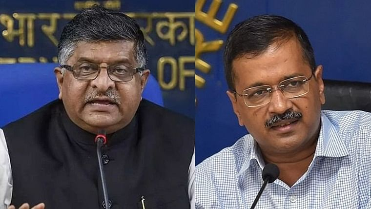 'Platform for tukde tukde gang': Ravi Shankar Prasad spars with Arvind Kejriwal over Shaheen Bagh protests