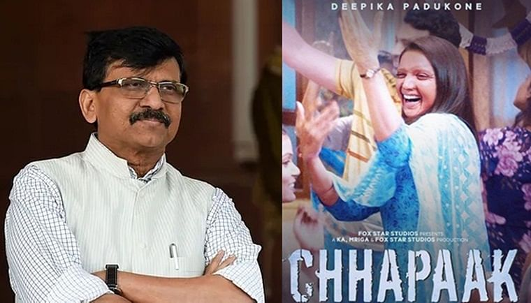 'Country cannot be run in Talibani style': Sena's Sanjay Raut bats for Deepika Padukone's 'Chhapaak'