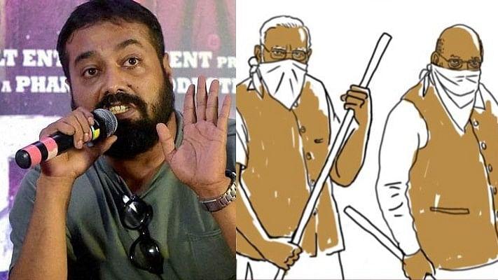 Anurag Kashyap changes Twitter DP to depict Modi-Shah as masked goons after JNU violence