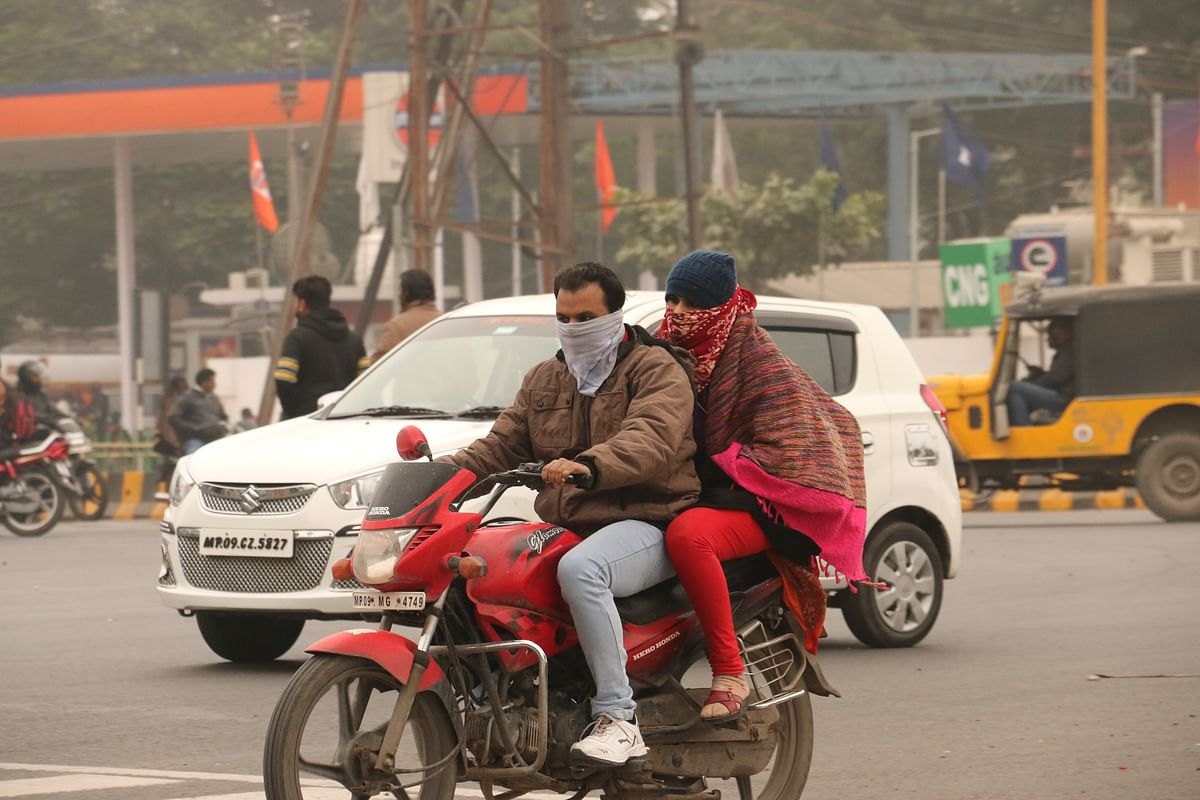 Indore: Day temp drops nine degrees Celsius from normal