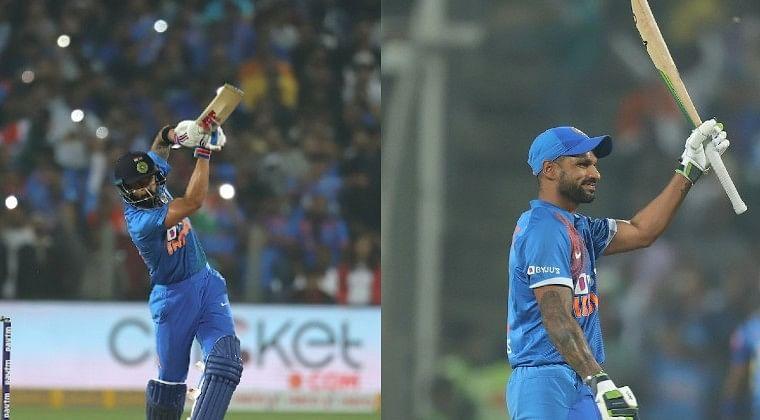 Shikhar Dhawan, Virat Kohli advance in ICC T20I rankings after India beat Sri Lanka 2-0