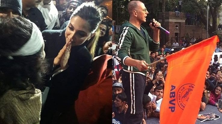 'Better than being a fence sitter': Milind Deora backs Deepika Padukone for visiting JNU, Akshay Kumar for raising ABVP flag